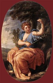 The Muse Terpsichore - Eustache Le Sueur