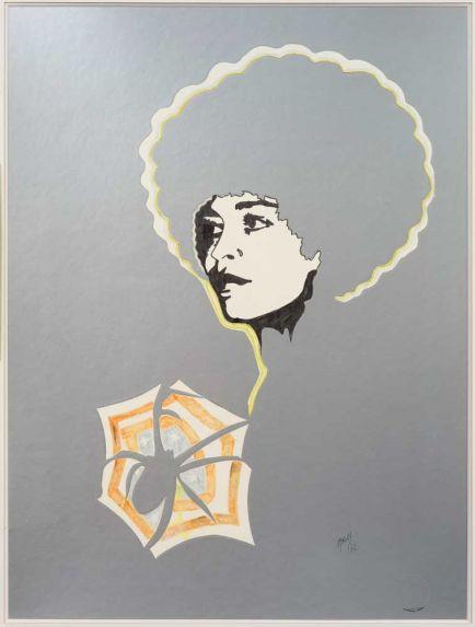 Angela Davis II, 1972 - Евелін Аксель