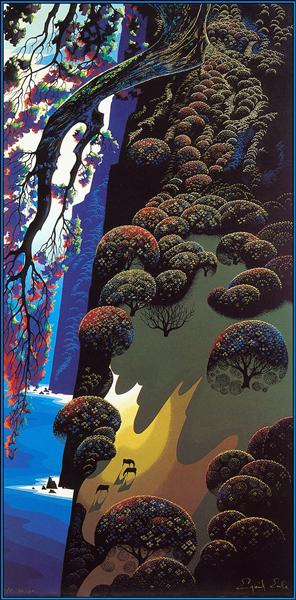 Enchanted Coast, 1980 - Eyvind Earle