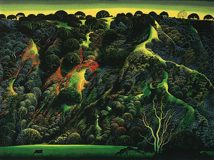 Gardner's Ranch, 1991 - Eyvind Earle