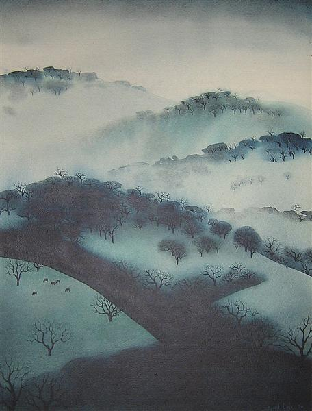 Misty Mountains, 1970 - Eyvind Earle