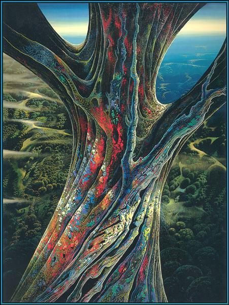 Eyvind Earle Tree