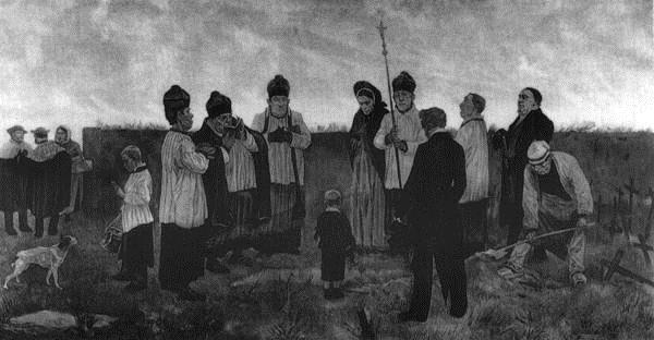 Burial in the Walloon Country