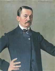 Self-portrait - Felix Vallotton