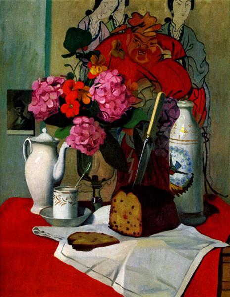 Still life in Chinese painting, 1925 - Felix Vallotton