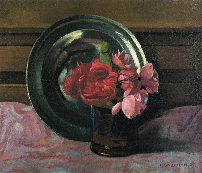 Still Life with Roses, 1920 - Felix Vallotton