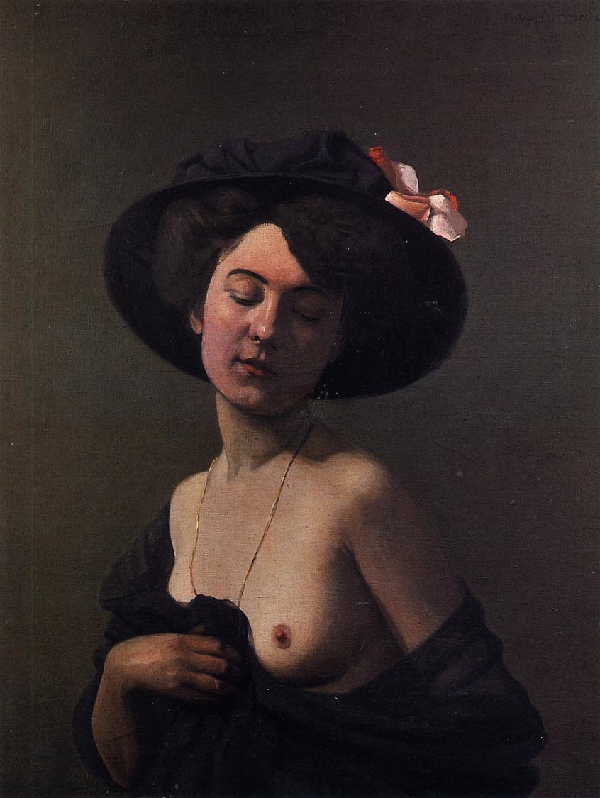 woman hat: