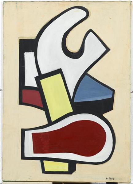 Mural, 1953 - Fernand Leger - WikiArt.org