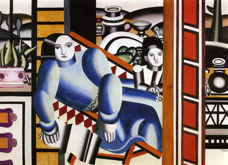 The Woman and the child, 1922 - Fernand Leger