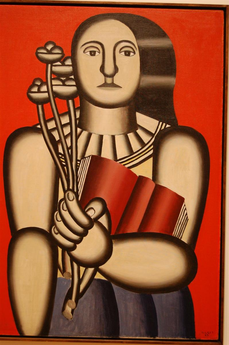 Image result for fernand leger woman with a book