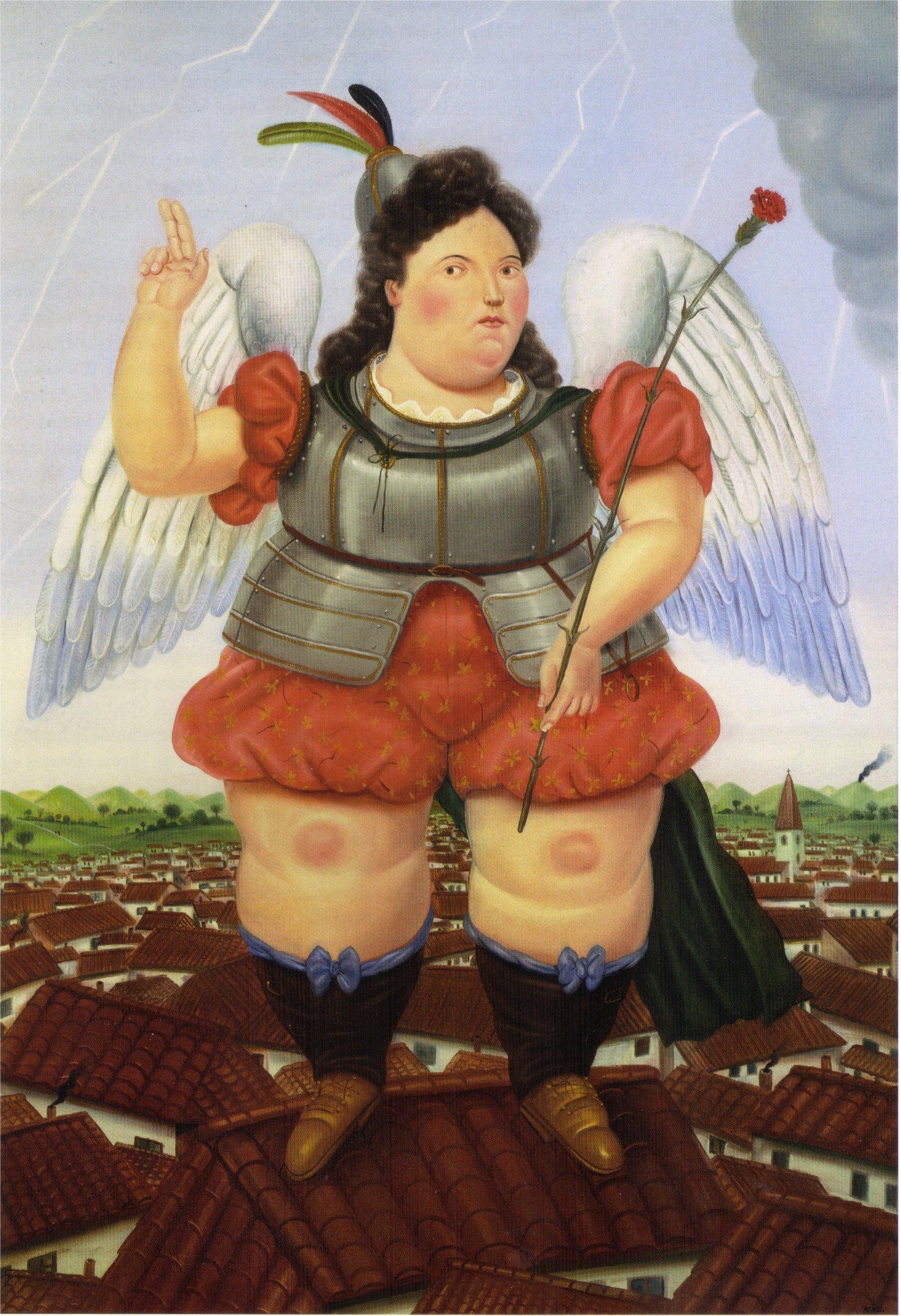 Célèbre Archangel, 1986 - Fernando Botero - WikiArt.org YZ23