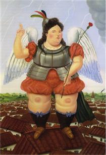 Fernando Botero 177 Obras De Arte Pintura