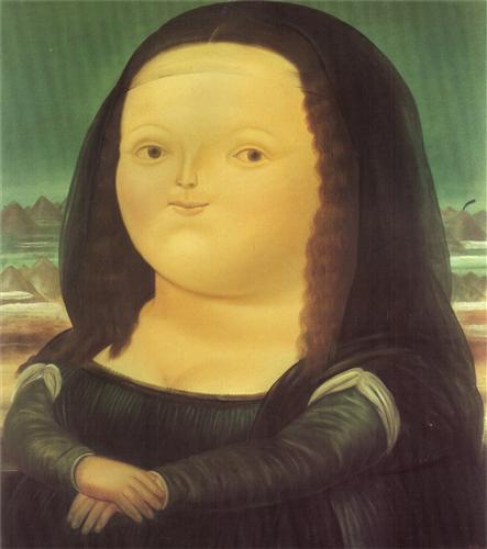 Mona Lisa - Fernando Botero