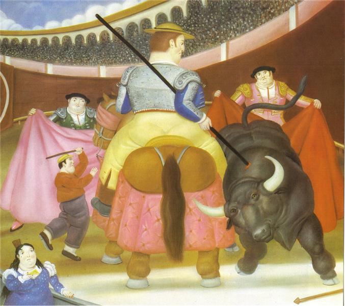 The Pica, 1984 - Fernando Botero