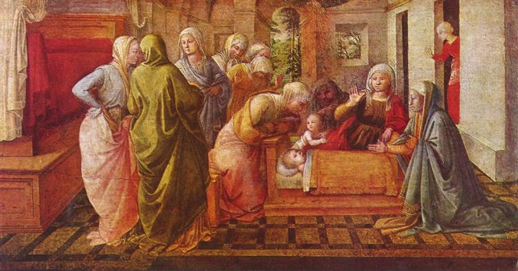 Ambrose Legend, 1441 - Filippo Lippi