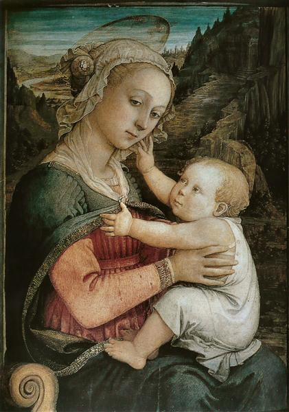 Madonna and Child, 1465 - Filippo Lippi