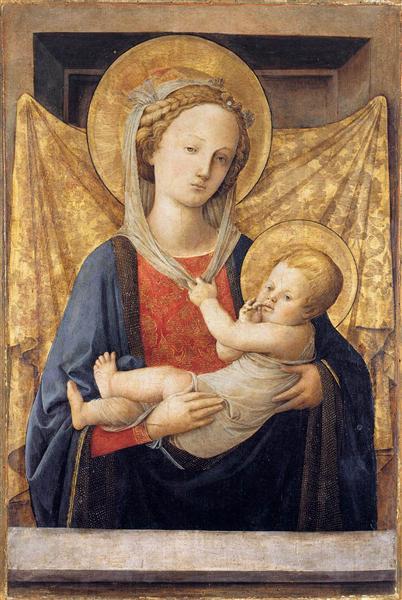 Madonna and Child, c.1450 - Filippo Lippi