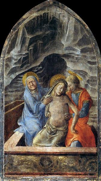 Pietà, 1460 - 1465 - Filippo Lippi