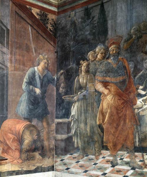 The Beheading of John the Baptis, 1465 - Filippo Lippi
