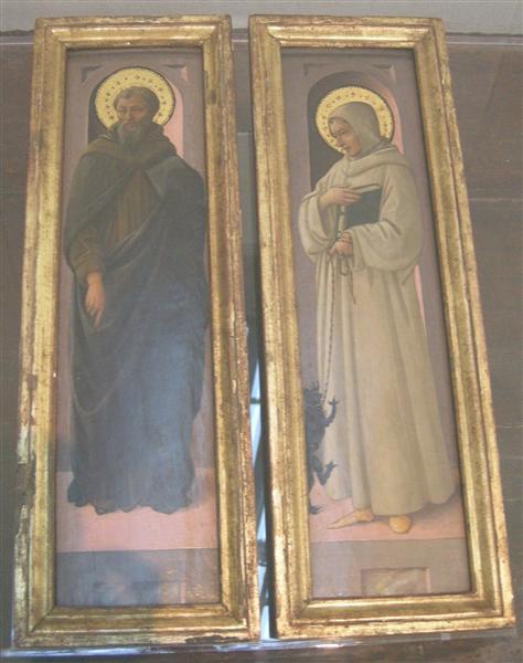Two Saints, c.1447 - c.1469 - Fra Filippo Lippi