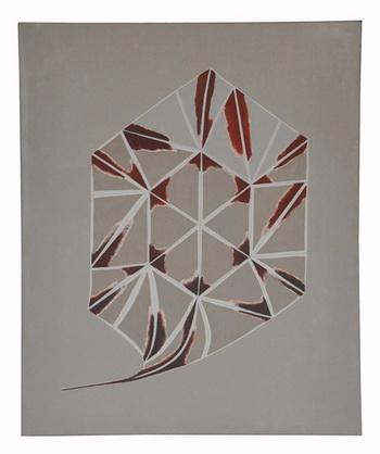 Hexagon with tail, 1977 - Florin Maxa