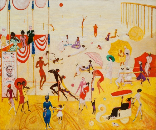 Ashbury Park South, 1920 - Florine Stettheimer