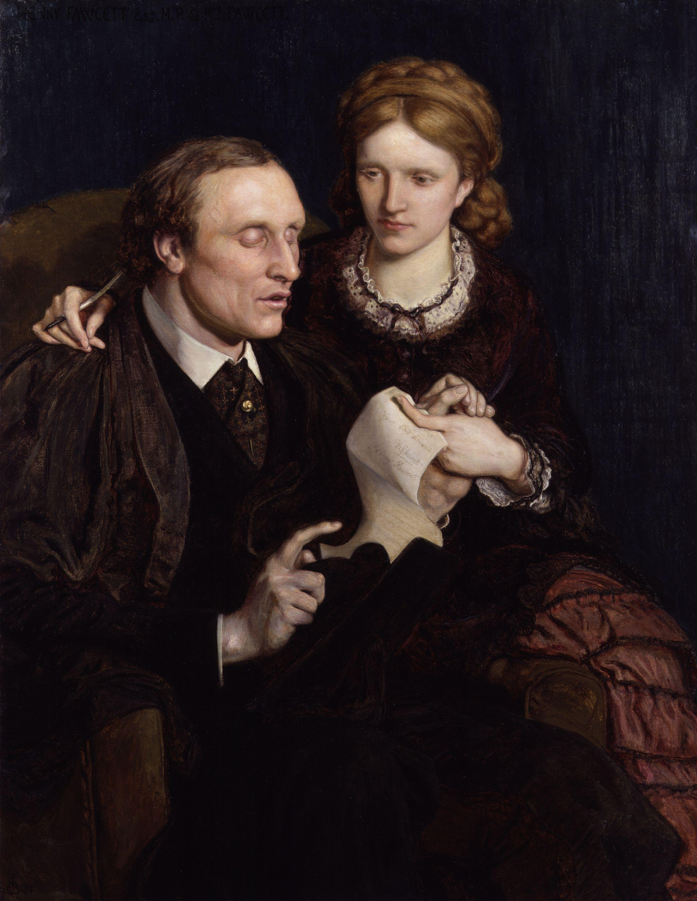 Henry Fawcett, Dame Millicent Garrett Fawcett
