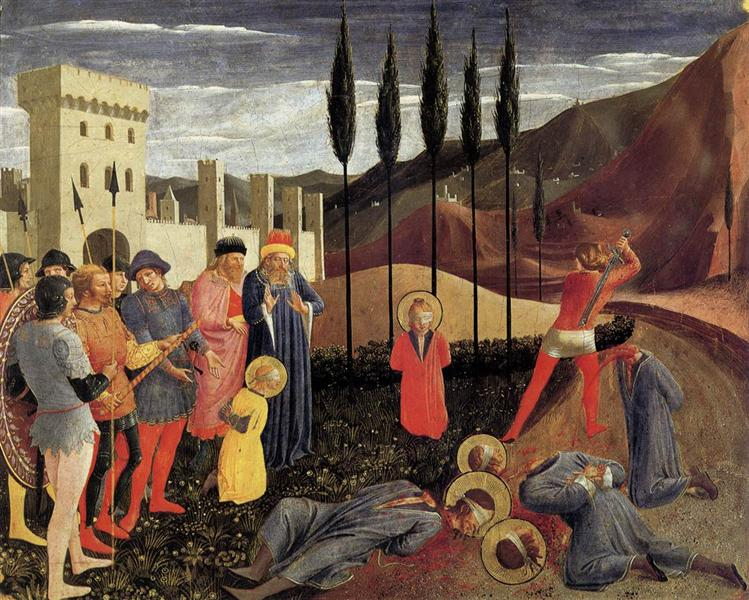 Beheading of Saint Cosmas and Saint Damian, 1438 - 1440 - Fra Angelico