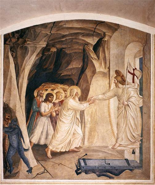 Christ in Limbo, 1441 - 1442 - Fra Angelico