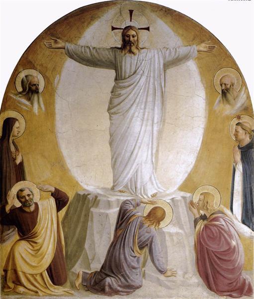 Transfiguration, 1440 - 1442 - Fra Angelico