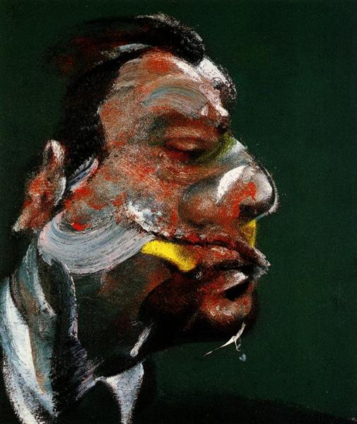 Study for Head of George Dyer, 1967 - Francis Bacon