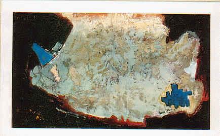 Composition sur fond noir, 1966 - Фрэнсис Ботт
