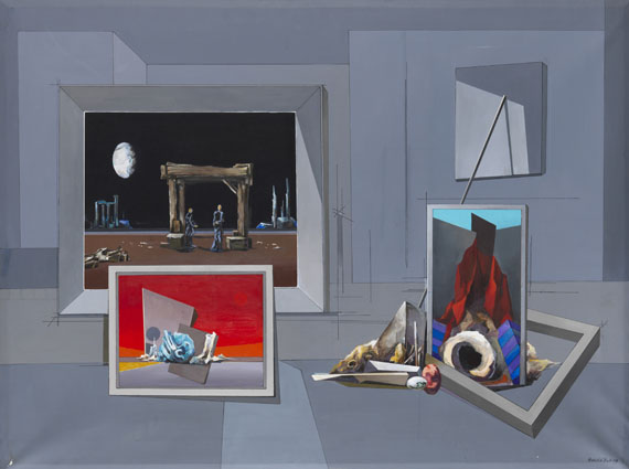 Paysage mystique, 1979 - Francis Bott