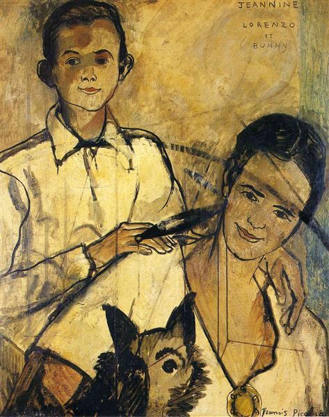Jeannine, LorenzoandBunny - Francis Picabia