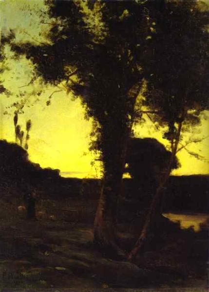 Landscape Paysage, 1898 - Francis Picabia