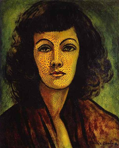 Portrait of Woman, c.1935 - Francis Picabia