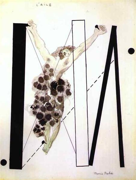 The wing, c.1922 - Francis Picabia