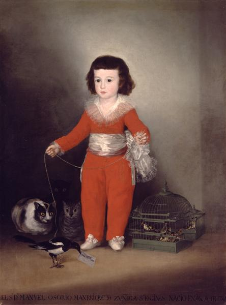 Don Manuel Osorio Manrique de Zuniga, c.1787 - Francisco Goya