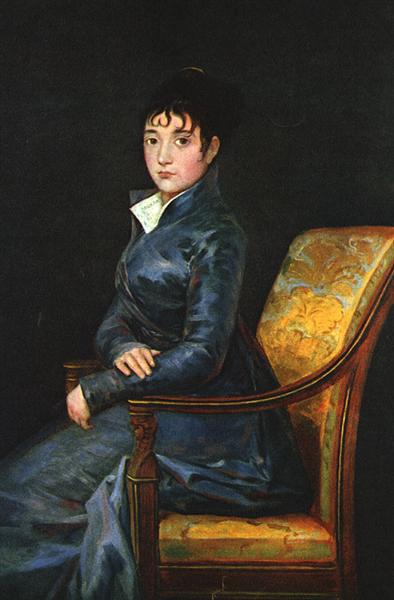 Dona Teresa Sureda, c.1805 - Francisco Goya