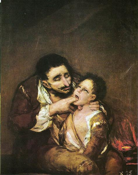 El Lazarillo de Tormes, 1819 - Francisco Goya