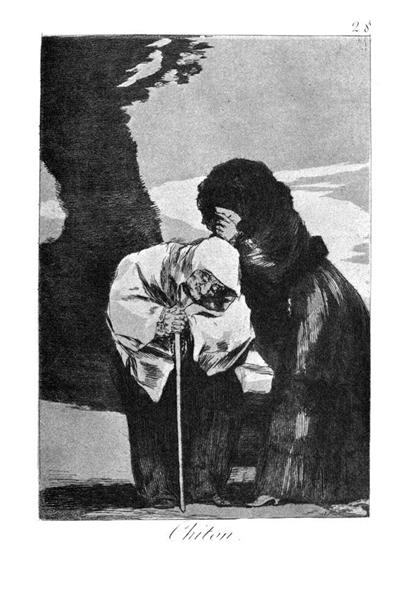 Hush, 1799 - Франсіско-Хосе де Гойя