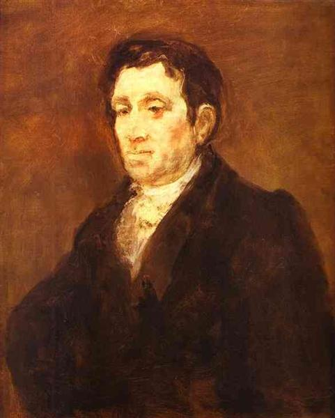 Jose Pio de Molina, 1827 - 1828 - Francisco Goya
