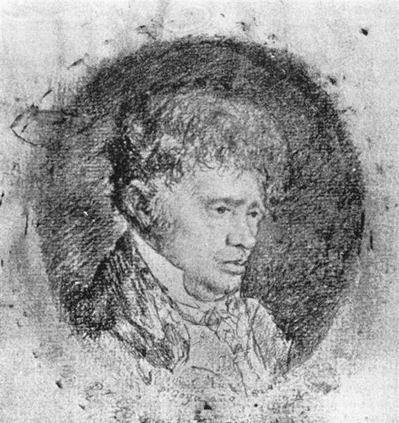 Portrait of Javier Goya, the Artist's Son, 1824 - Francisco Goya
