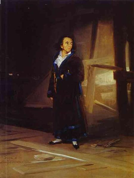 Portrait of the Artist Julio Asensio, c.1798 - Francisco Goya