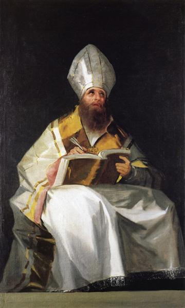 Saint Ambrose, 1796 - 1799 - Francisco Goya