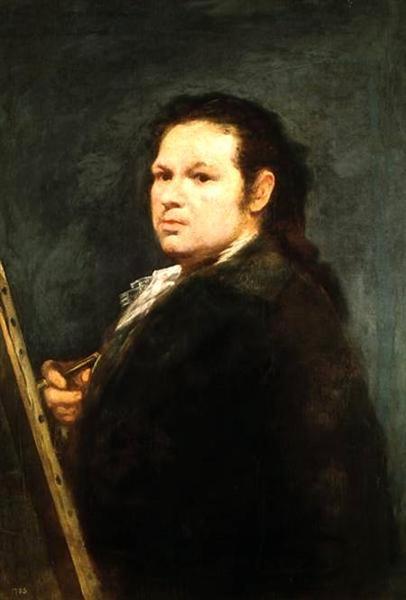 Self portrait, 1783 - Francisco de Goya