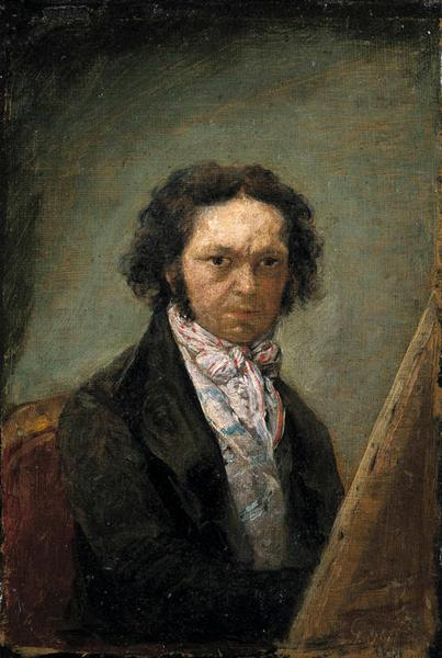 Self portrait, 1795 - Francisco Goya