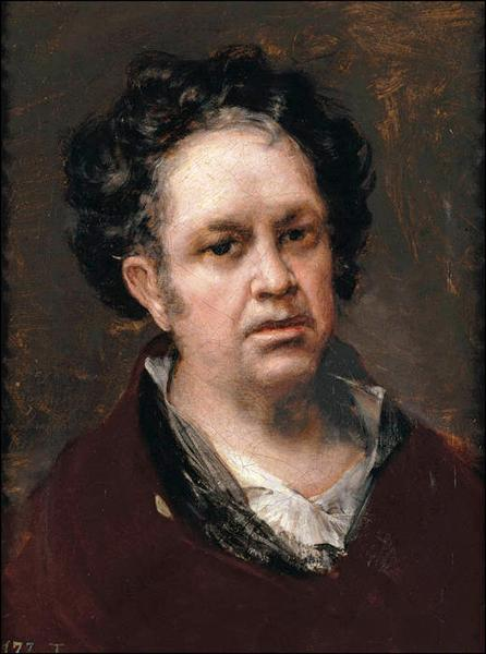 Self Portrait, 1815 - Francisco Goya
