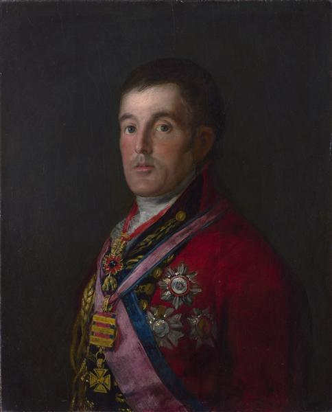The Duke of Wellington, 1812 - 1814 - Francisco Goya