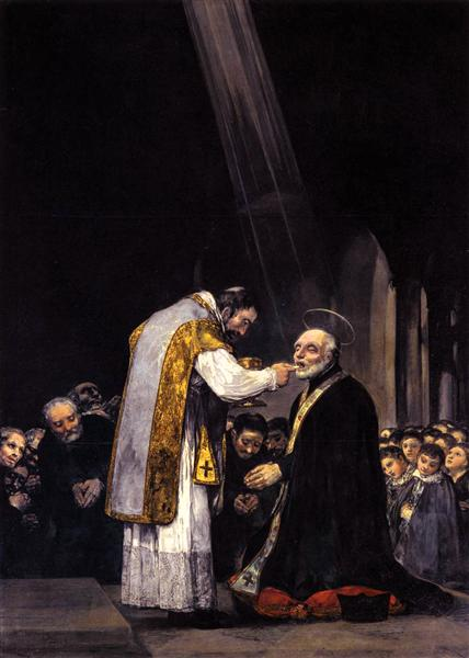 The Last Communion of St. Joseph Calasanz, 1819 - Francisco Goya